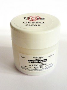 Gesso Clear - grunt akrylowy 120ml